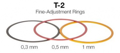 Baader T-2/M48 Fine Adjustment Rings, Aluminium