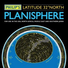 Philip's Planisphere (Latitude 32 North)