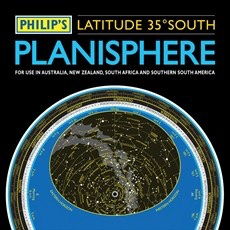Philip's Planisphere (Latitude 35 South)