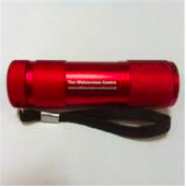 Red Light LED Torch (Red Body)