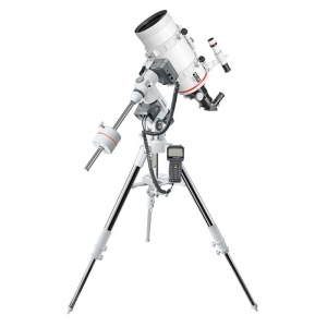 Bresser Messier MC-152 Maksutov-Cassegrain Hex-Focus Telescope on EXOS-2 GOTO Go-To Equatorial Mount