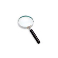 Classic Hand Magnifier 2.5x, Glass, 65mm/ 2.5''