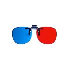 ProView Clip-on RED/CYAN Anaglyph Glasses