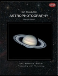 High Resolution Astrophotography DVD - Part II by Damian Peach