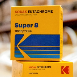 Kodak EKTACHROME 100D Color Reversal Super 8 Film