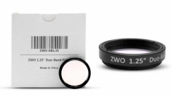 ZWO Duo-Band Dual-Bandpass Narrowband Imaging Filter