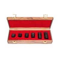 BOXED SET OF SIX - 1.25'' PARFOCAL BRANDON OCULARS (WALNUT CASE)