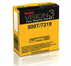 Kodak VISION3 500T Color Negative Super 8 Film 7219