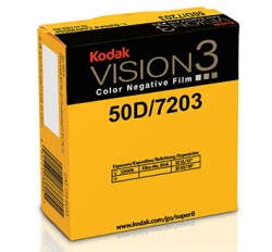 Kodak VISION3 50D Color Negative Super 8 Film 7203