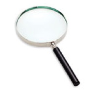 Classic Hand Magnifier 2x, Glass