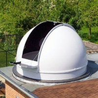 Pulsar 2.7m Short Height Observatory Dome (Flat Roof Installation)